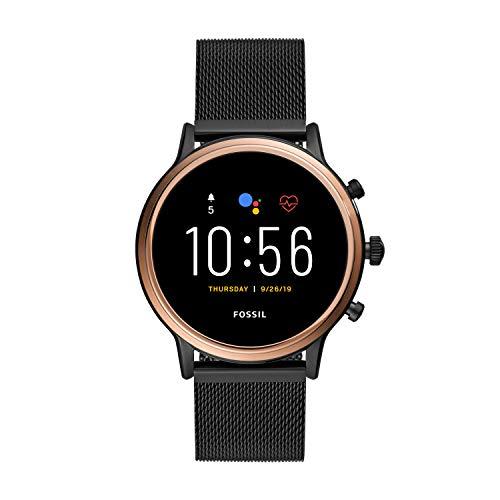 Fossil Gen 5 Julianna Stainless Steel Touchscreen Women's Smartwatch...