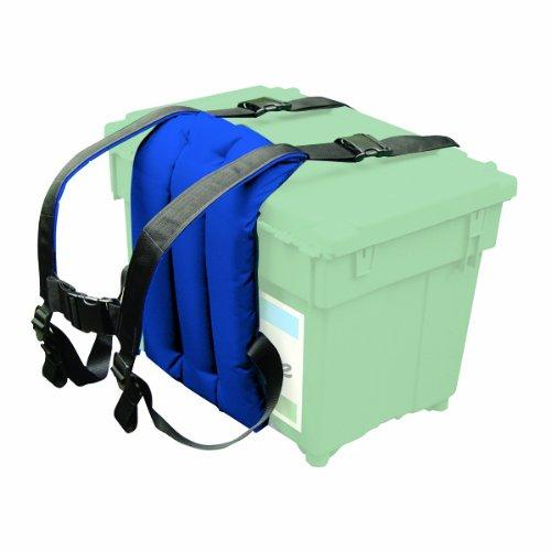 Shakespeare Seatbox Sherpa- Porta Contenitore da Pesca, colore: Blu