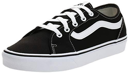 Vans Filmore Decon, Sneaker Mujer, Negro (Black/True White 1wx), 38 EU