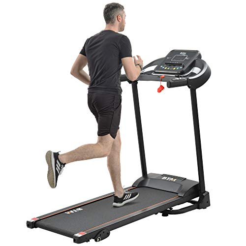 Electric Treadmill Folding Motorized Running Machine│MP3 & Dual Speakers