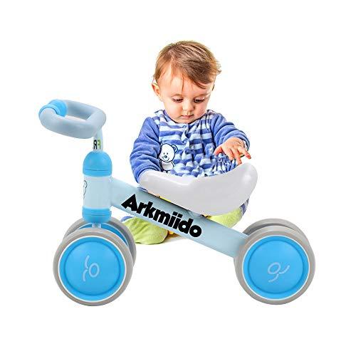 Bicicletta per Bambini 1-3 Anni, Bicicletta Equilibrio Bambino, Triciclo Senza Pedali, Prima Bici...
