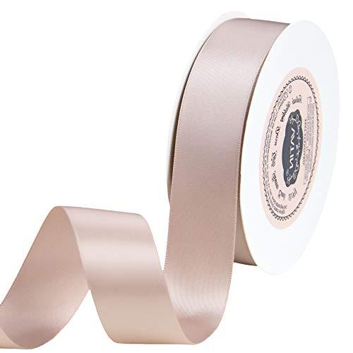 "VATIN 1"" Double Faced Polyester Satin Ribbon"
