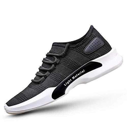 Shozie Men's Running Sports Shoes (9, Sky)