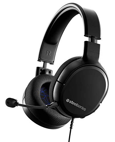 SteelSeries Arctis 1 PS 密閉型 ゲーミングヘッドセット PS5 PS4 Switch PC Android 対応【国内正規品】