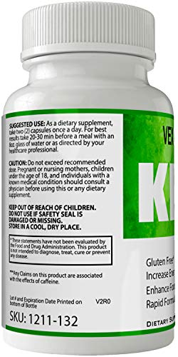Vexgen Keto Pills Advance Weight Loss Supplement, Appetite Suppressant with Ultra Advanced Natural Ketogenic Capsules, 800 mg Fast Formula with BHB Salts Ketone Diet Boost Metabolism and Pulls Focus 2
