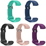 NewBull ID115U Replacement Bands, Buckled Wristbands Compatible with ID115U / ID115U HR Smart Fitness Tracker Adjustable Replacement Straps