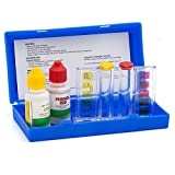 WWD POOL Swimming Pool Spa Water Chemical Test Kit for Chlorine and Ph Test (2 Way Test Kit)