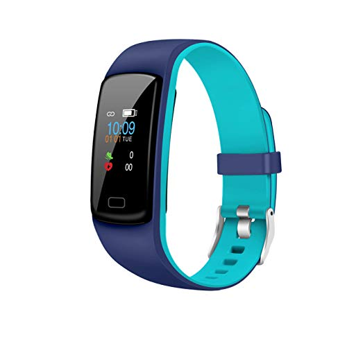 Gusto 2.0 by Helix, Dual Color Fitness Band with Colored Display, HRM, SOS, Music Control, Message and Call Notification Digital Black Dial Unisex's Watch, up to 7 days active battery life - TW0HXB204T