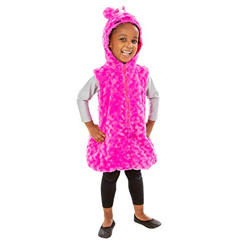ODDBODS Newt Costume for Boys & Girls - One Piece, One Size Fits Most - Pink Character Costume for Kids, Large (Ages 4+)