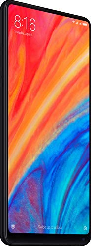 Xiaomi Mi MIX 2S with 6GB RAM and 64GB Storage 5.99-Inch Android 8.0 UK Version SIM-Free Smartphone - Black (Official UK Launch)