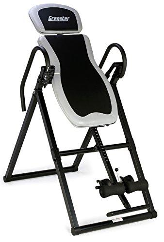 Gregster Table d'inversion, Planche de Gravitation avec Un système pour Parfait équilibre, pour utilisateur d'une Taille maximale de 199cm et d'un Poids Maximum de 135kg