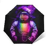 Astronaut Listening To Music.PNG Paraguas automático de Tres Pliegues Parasol Sombrilla Sombrilla