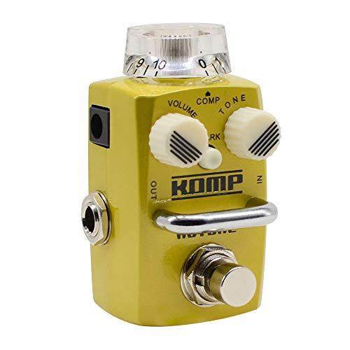 HOTONE Skyline Komp Analog Opto LA2A Style Optical Compressor Guitar Bass Effects Pedal