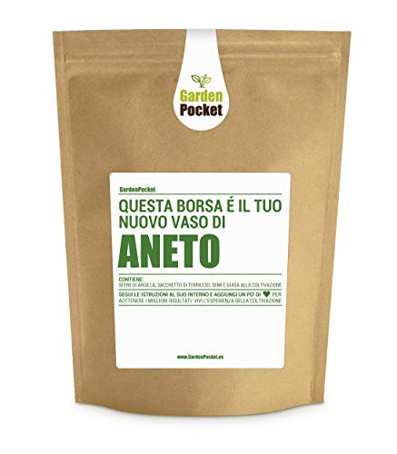 Garden Pocket - Kit di Coltivazione ANETO - Borsa Maceta
