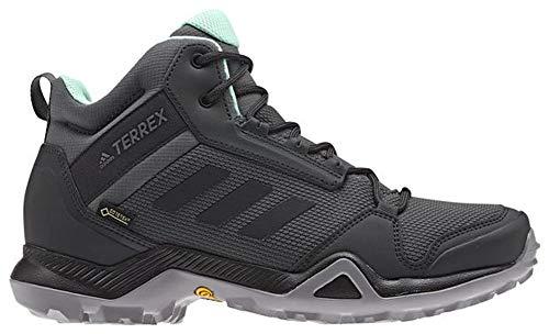 adidas outdoor Women's Terrex AX3 Mid GTX Grey Five/Black/Clear Mint 10 B US