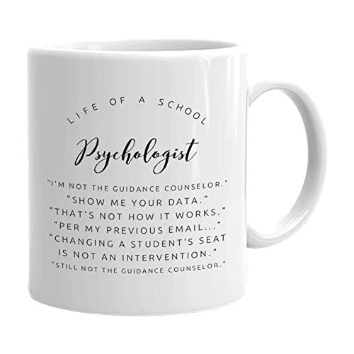 Psychology Mug 11oz - Funny Gifts for school Psychologist -...