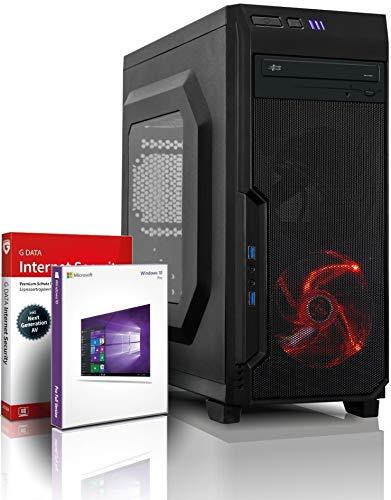 Ryzen7 Gaming PC mit 3 Jahren Garantie! AMD Ryzen7 1700X 16-Thread Prozessor, 3.8 GHz | 16GB DDR4 | 256 GB SSD + 1 TB HDD | Geforce GTX 1650 4 GB DDR5 | DVD | Win10 Pro | WLAN | MS Office #6457