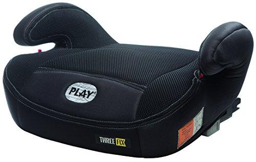 Play Three Fix, Silla de coche grupo 2/3 Isofix, negro