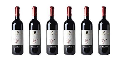6 bottiglie di Bonarda Frizzante DOC'Violino' | Cantina Paravella | Annata 2016