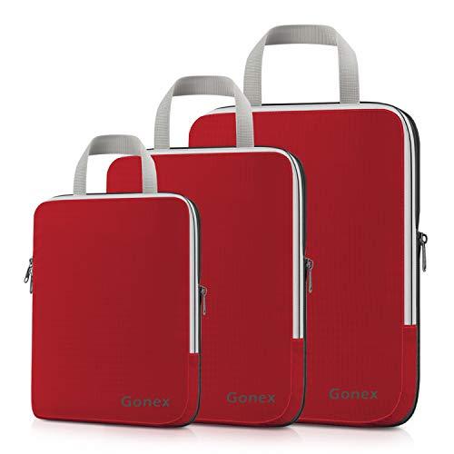 Gonex Organisateur Bagage Compressible de Valise Organiseur Sac Rangement...