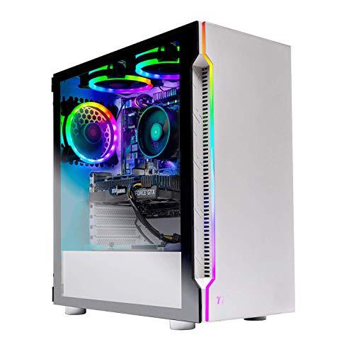 Skytech Archangel Gaming Computer PC Desktop  RYZEN 5 2600 6-Core 3.4 GHz, GTX 1660 6G, 500GB SSD, 16GB DDR4 3000MHz, RGB Fans, Windows 10 Home