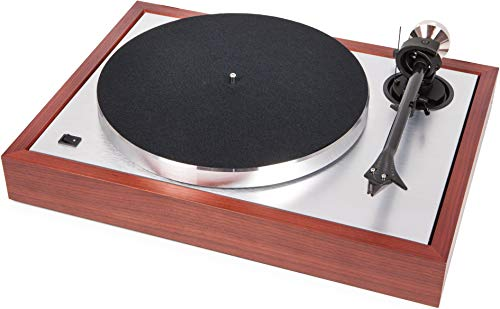 Pro-ject The Classic Sub-chassis turntable with 9? carbon/alu sandwich tonearm- Rosenut