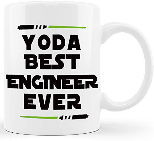 Yoda Best Engineer Ever Engineering Gifts for Engineer...