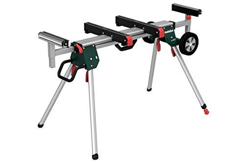 Metabo Untergestell für Kappsäge KSU 251 (Leichter Maschinenständer bis 250 Kilogramm, Länge bis 250 Zentimeter, Längenverstellbar und Höhenverstellbar) 629005000