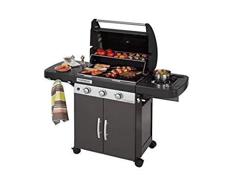 ALTIGASI Barbecue Dual Gas GPL TRASFORMABILE A METANO con OMOLOGAZIONE CAMPINGAZ Modello 3 Series Classic LS Plus con Sistema Pulizia in LAVASTOVIGLIE