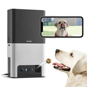 [New 2020] Petcube Bites 2 Wi-Fi Pet Camera with Treat Dispenser & Alexa Built-In, for Dogs & Cats. 1080P HD Video, 160° Full-Room View, 2-Way Audio, Sound/Motion Alerts, Night Vision, Pet Monitor