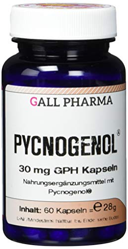 Gall Pharma Pycnogenol 30 mg GPH Kapseln, 1er Pack (1 x 60 Stück)