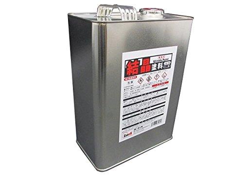 カーベック(CARVEK) 結晶塗料 黒 ブラック 1L缶 1668 [HTRC3]