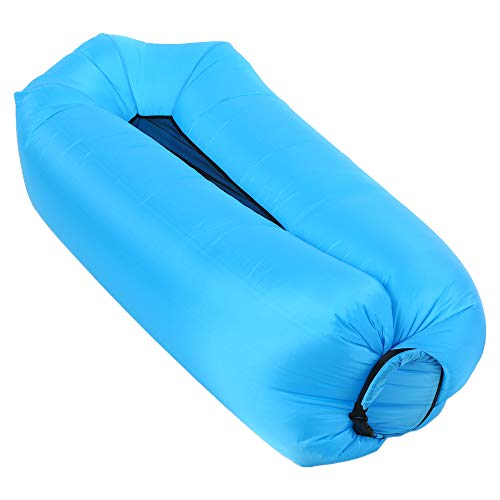 Lixada Inflatable Lounger Air Sofa Hammock-Portable,Water Proof& Anti-Air Leaking Design-Self-Inflating Sleeping Ideal Couch for Backyard Lakeside Beach Traveling Camping Picnics & Music Festivals