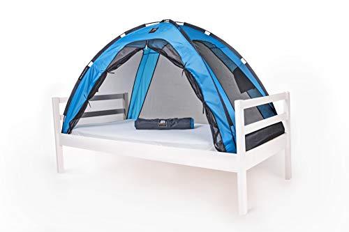 DERYAN Tente de lit - Moustiquaire pour lit - Bleu - Protège votre enfant...