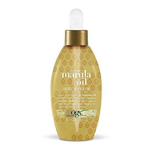 OGX Hydrate and Marula Oil Serum Elixir, Gold 3.8...