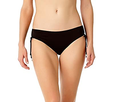 Side tie With Adjustability Great For Mix and Match Cinch Side Ties at Hip Basic Easy Comfortable Bikini Bottom The Anne Cole Collection was created for women of every age that flatter with effortless ease. Great for hanging out on the beach or swimm...