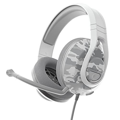 Turtle Beach Recon 500 Camo Polarweiß – Kabelgebundenesplattformübergreifendes Headset - PS5PS4Xbox Series X|Sxbox One und Nintendo Switch [