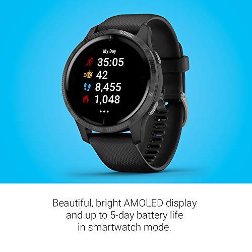 Garmin Venu Sq Music, GPS Smartwatch with Bright Touchscreen Display