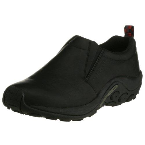 [メレル] ウォーキングシューズ ジャングルモックレザー  Black Black 8.5(26.5cm) 2E