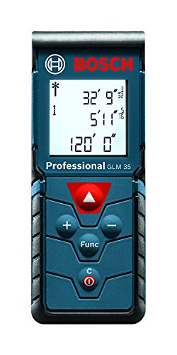 Bosch Compact Laser Distance Measure, 120-Feet GLM 35 (Discontinued by...