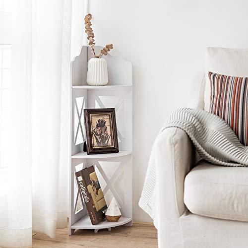 Corner Shelf,Corner Ladder Shelf for Living Room,Corner Shower Shelf Waterproof for Bathroom Storage,Shower Caddy...
