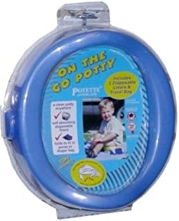 Kalencom On the Go Potty, Blue (Discontinued by Manufacturer)