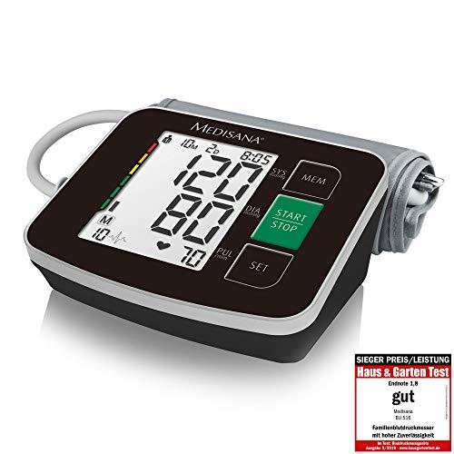 Medisana BU 516 Misuratore di Pressione Sanguigna Braccio Superiore, senza Cavi, Visualizzazione...