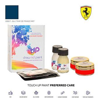 DrawndPaint for/FERRARI Portofino/BLU TOUR DE FRANCE MET - 226917 / TOUCH-UP PAINT SYSTEM EXACT-MATCH/PREFERRED CARE