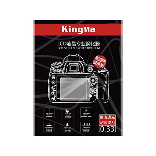 KingMa デジタルカメラ液晶保護フィルム Canon M6 M50 M100 G7X G7XII G9X G5X G1X2 EOS RP