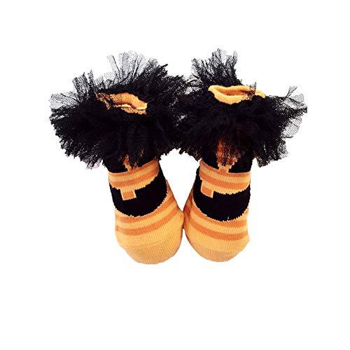 TrifyCore Halloween zucca Calze con pizzo zucca di Halloween calzini del bambino fantasma Viso Stile...