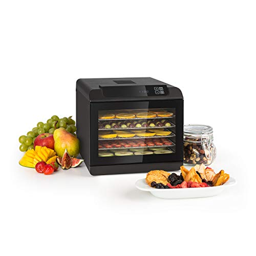 Klarstein Arizona - Disidratatore, Essiccatore di Carne e Frutta, Essicatrice, 500 Watt, 35-70 C, 6...