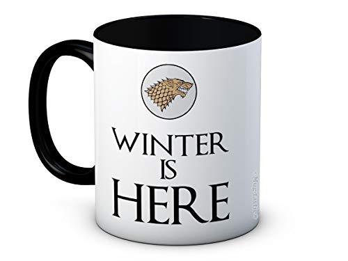 Winter is Here - Game Of Thrones - Taza de café de alta calidad