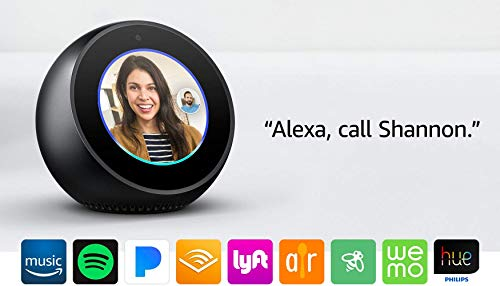 Product Image 26: Echo Spot - Smart Alarm Clock with Alexa - Black