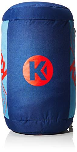 Kempa Unisex-Erwachsene K-line Bag Pro Ebbe & Flut Umhängetasche, Mehrfarbig (Ocean Blau/Dove Blau), 32x32x58 cm
